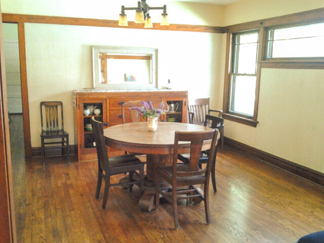 image chicago bungalow dining room arts & crafts