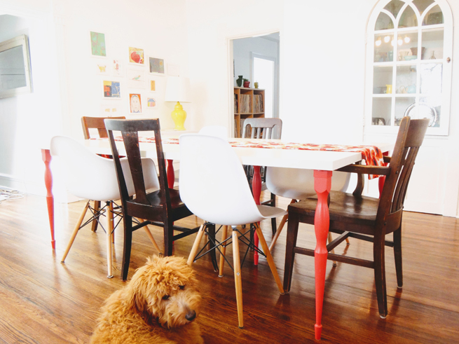 picture dining table