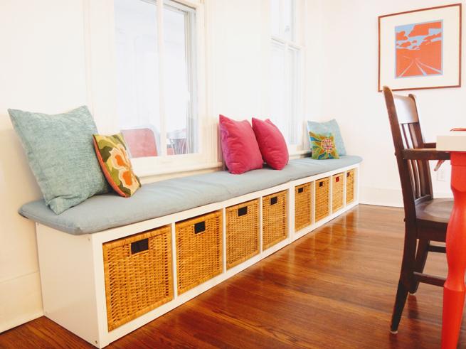 picture storage bench