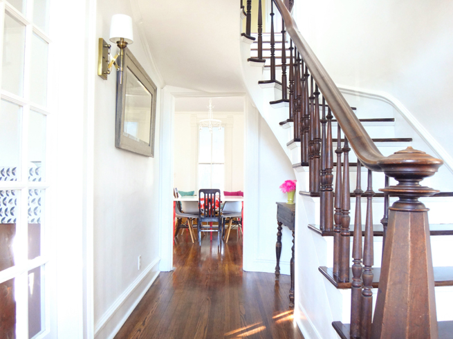 picture of stairway and hall