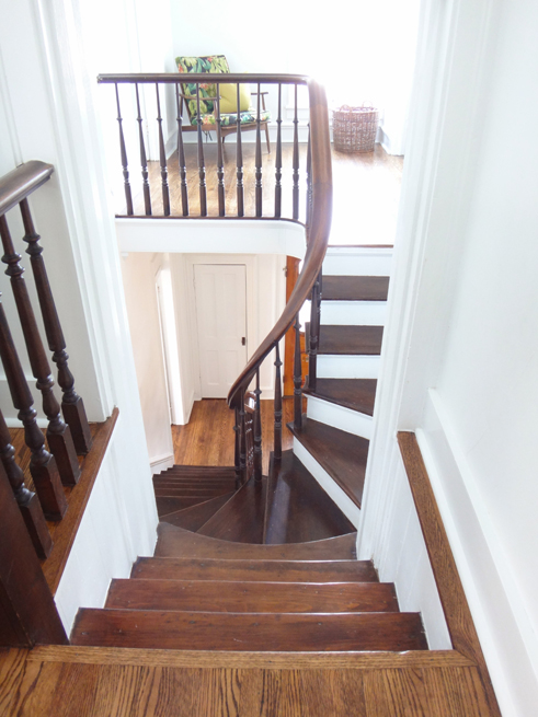 picture staircase and landing