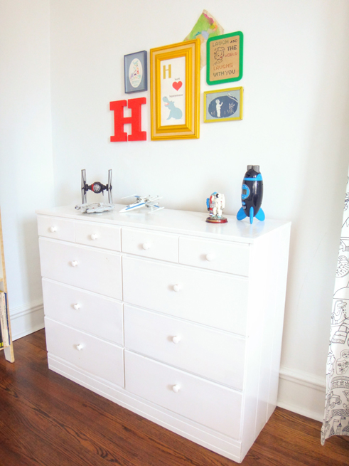 picture boys room dresser