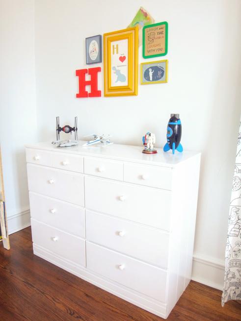 picture boys room dresser