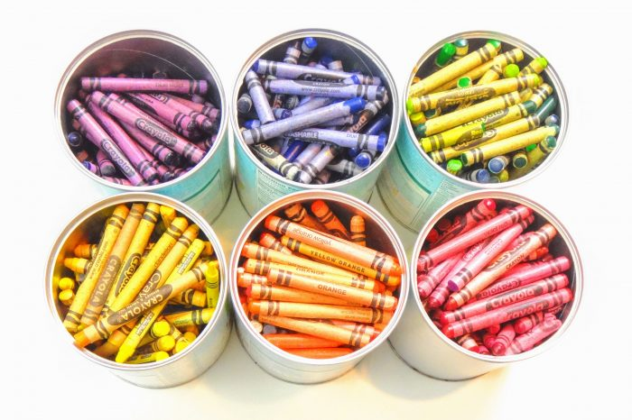 image cans of crayons