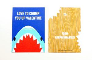 image shark valentine