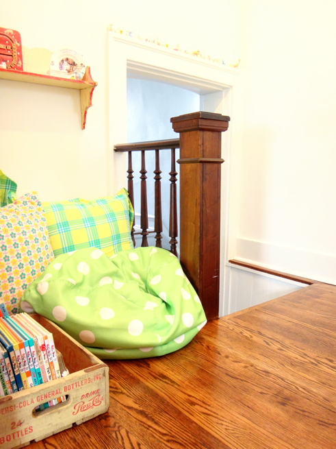 picture reading nook