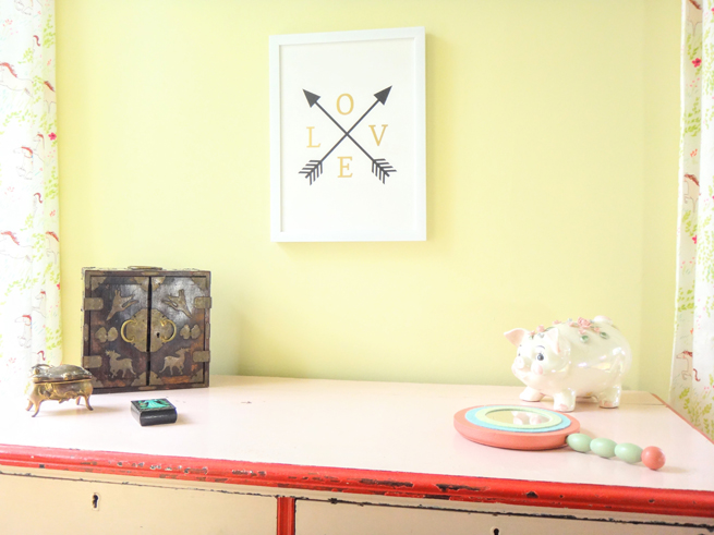 picture girl's room