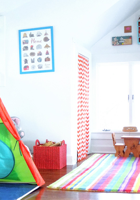 playroom curtain madly happy home