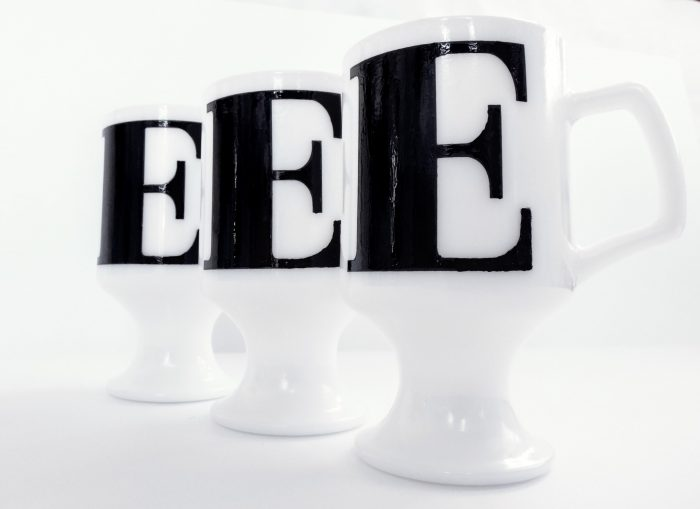 image monogram mugs