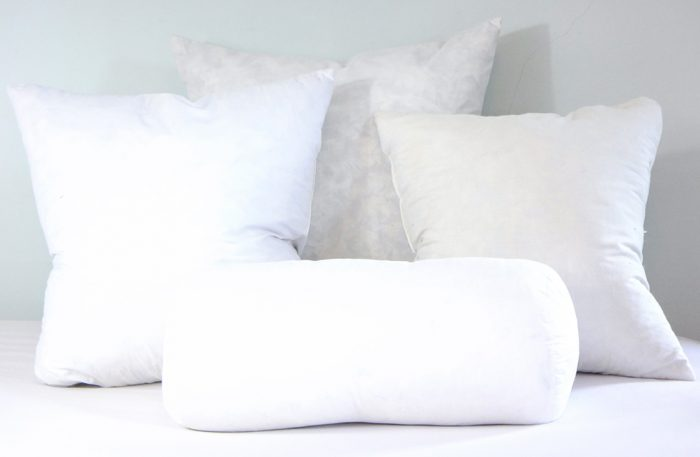 image feather down pillow inserts